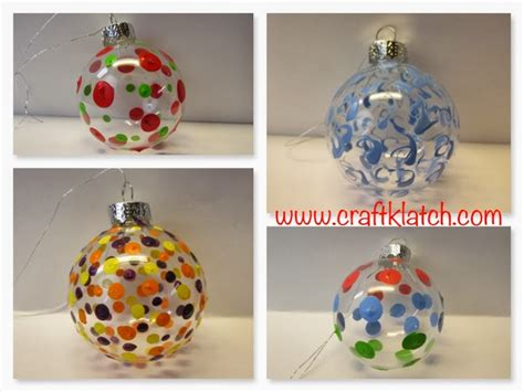 craft klatch 174 painted ornaments how to