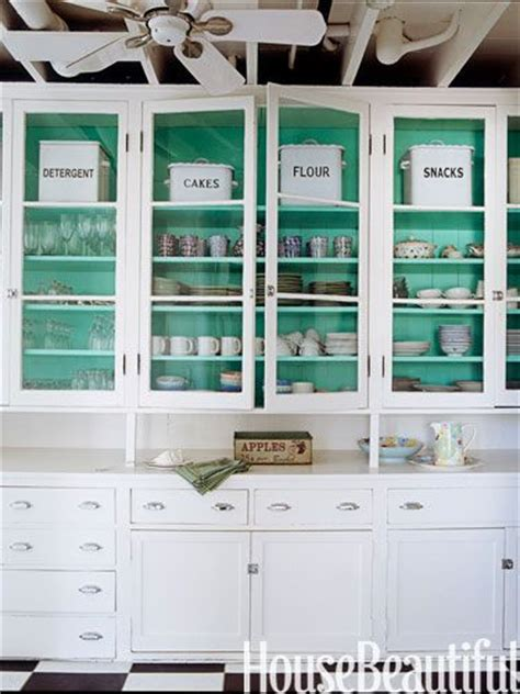 the power of paint inside cabinets cupboards drawers the beautiful indoors