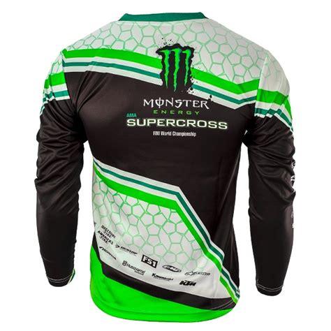 monster energy motocross jersey monster energy supercross green jersey