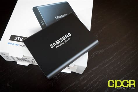 2 samsung portable ssd t5 samsung t5 2tb review portable external ssd custom pc review
