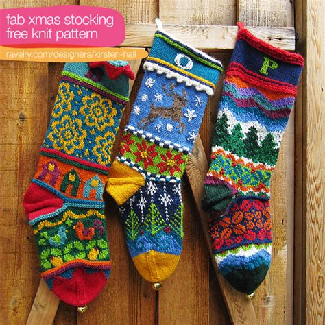 pattern knit christmas stocking from the archives christmas stockings to knit and