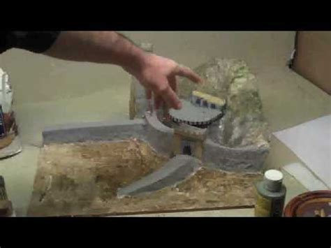 How To Make A Diorama With Paper - how to make a paper mache diorama helms wmv