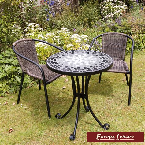Mosaic Bistro Table And Chairs Lagos With 2 San Remo Chairs
