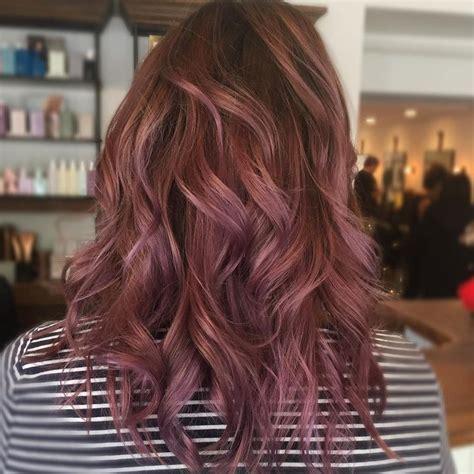 mauve hair color best 25 2017 hair color trends ideas on fall