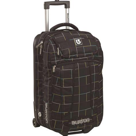 burton flight deck burton wheelie flight deck bag evo