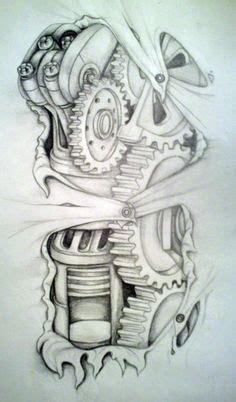 Biomechanical Tattoo Artists Edmonton | biomechanical shoulder design by zenbenzen on deviantart