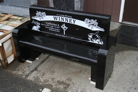 memorial granite benches memorial bench portfolio granite benches pacific coast