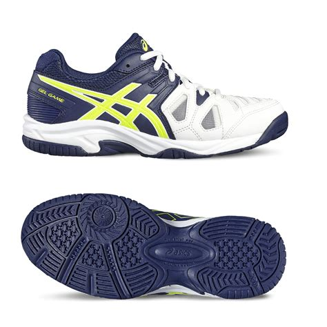 asics gel 5 gs boys tennis shoes