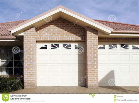 Suburban Overhead Doors Suburban Town House Garage Door Stock Images Image 7282624