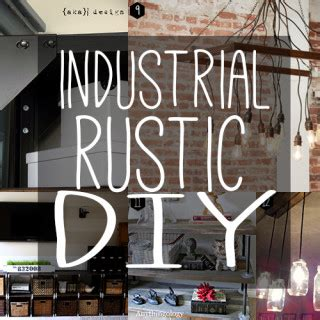 diy rustic industrial seating industrial chic room diy rustic industrial archives andrea s notebook