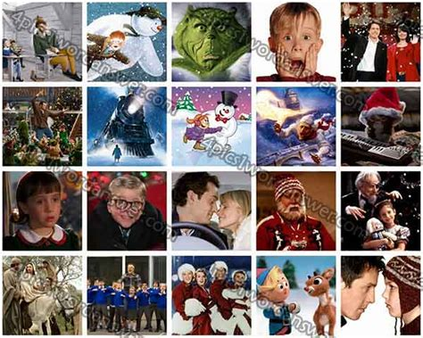 christmas film quiz online 100 pics christmas films answers 4 pics 1 word game