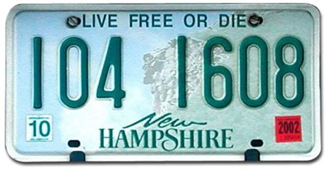 Nh Vanity Plate by The Next Time You Re In New Hshire Front Porch Republic