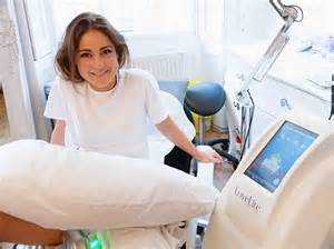 self made tattoo the jump star louise thompson had 163 1 000 worth of beauty treatments as she strives for thigh