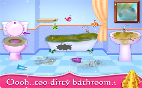 doll house cleaning games my baby doll house tea party cleaning game android apps on google play