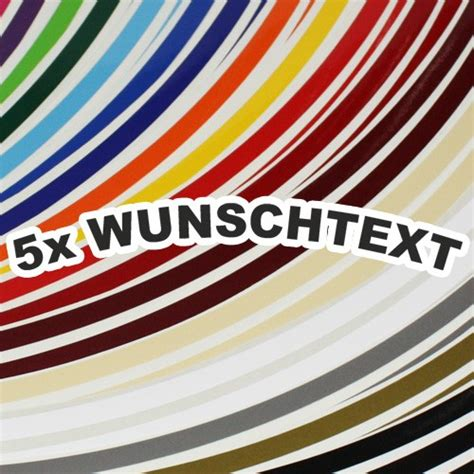 Felgenrandaufkleber Wunschtext by Felgenaufkleber Wunschtext