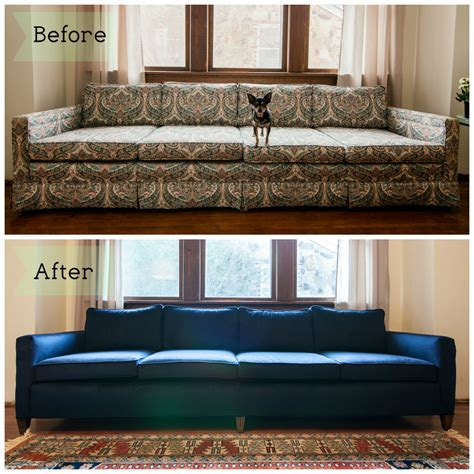 upholstery change couch before after mid mod mad men pinterest couch