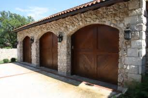 Transitional Style Kitchens - garage doors mediterranean austin by rick o donnell architect