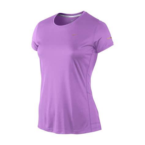 Tshirt Indo Runners 5 Highclothing nike miler womens running t shirt purple