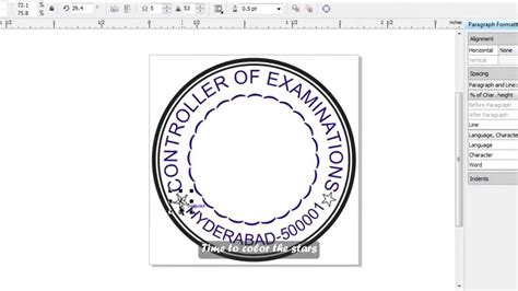 create rubber st free how to make a simple st in corel draw subs