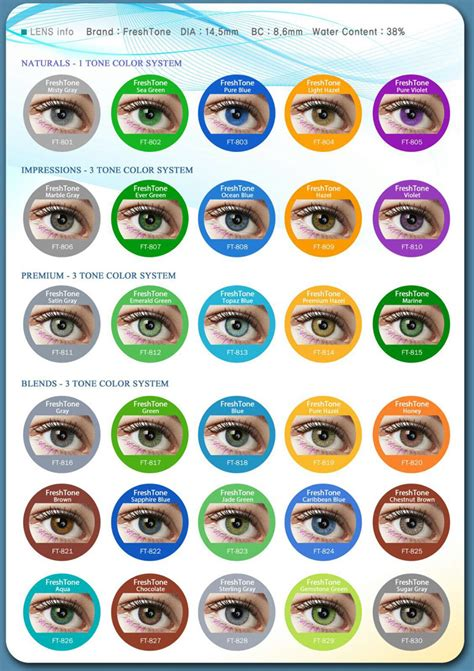 where can i buy colored contacts for freshtone blends caribbean blue lenses buy colorblends