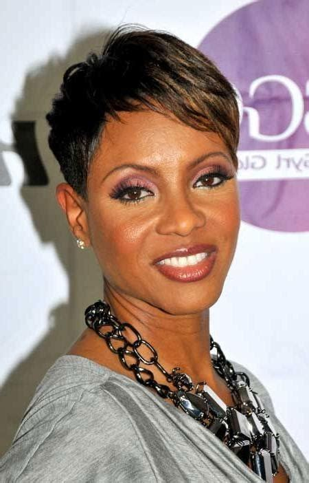 short hairstyles for black women with hair thinking in the sides 20 photo of short hairstyles for african american women