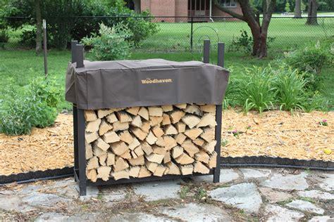Woodhaven Wood Rack by Woodhaven Firewood Rack 4 Ft X 4 Ft Firepitscreens Net