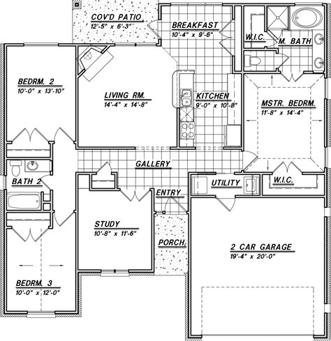 1500 sq ft floor plans stock plans jim cox designs