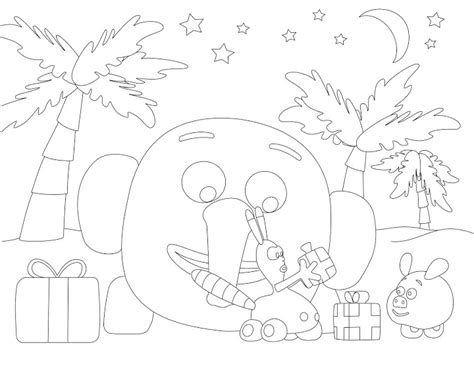 Coloring Pages Online Coloring Page Download Jungle Junction Coloring Pages