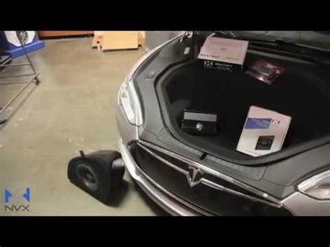 Tesla Model S Sound System Tesla Model S Nvx Sound System Upgrade Preview