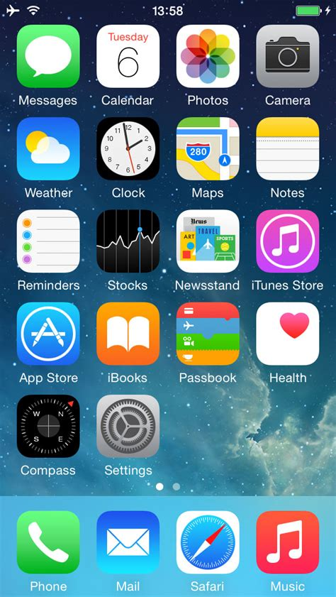 the iphone homescreens of 7 highly productive
