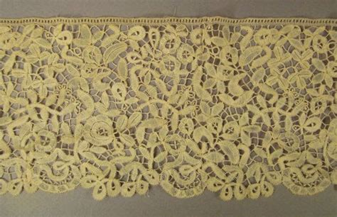 Handmade Belgian Lace - stunning belgian lace handmade 2 yards wide handcrafted