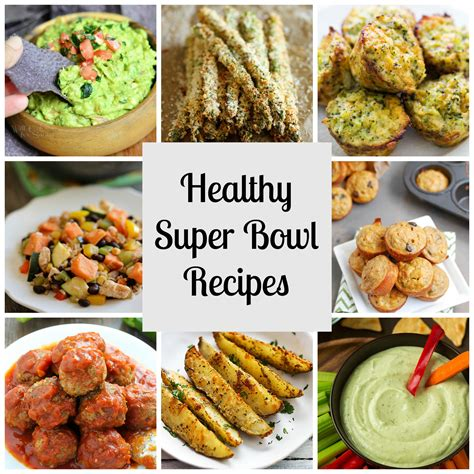 healthy superbowl food recipes