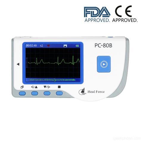 Monitor Ekg heal portable ekg monitor machine rate monitor operation fast and