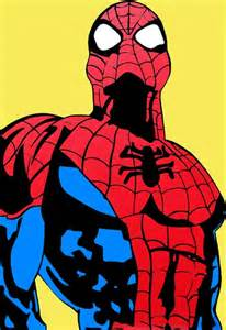 213 pop art portraiture superhero spiderman 1