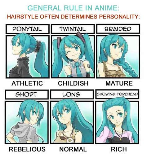 haircuts and meanings アニメキャラの個性は髪型によって決定づけられてる 海外の反応 暇は無味無臭の劇薬