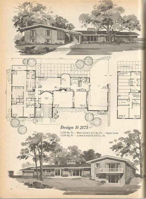 vintage home design plans 17 best images about mid century architecture on pinterest