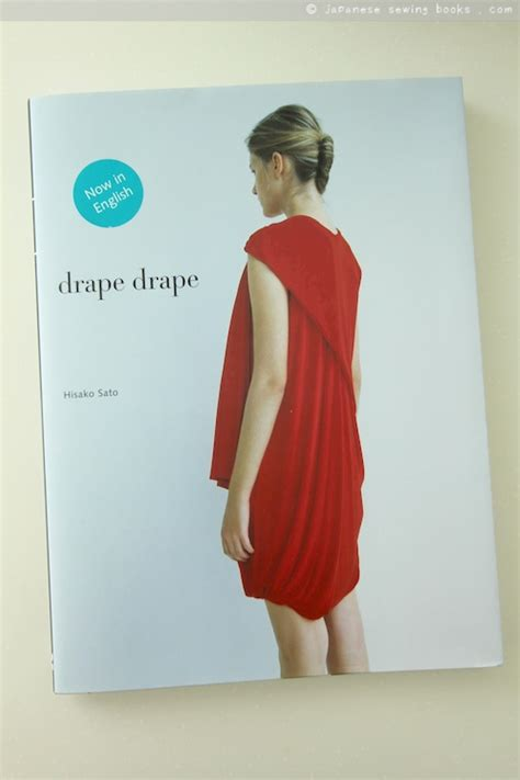 japanese pattern books in english book review drape drape in english japanese sewing