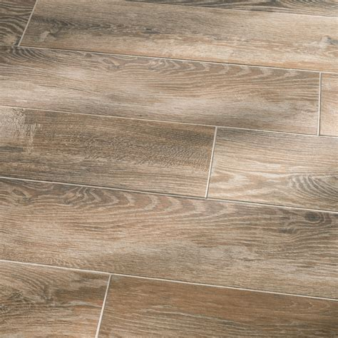 faux wood tile available shop style selections natural timber cinnamon glazed porcelain indoor