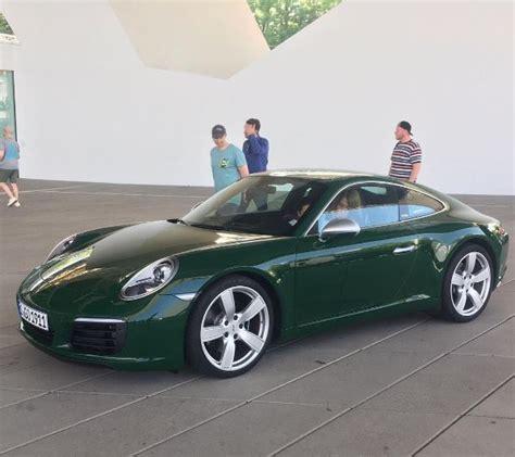 porsche irish green irish green porsche 911 carrera s 1 million 911 looks