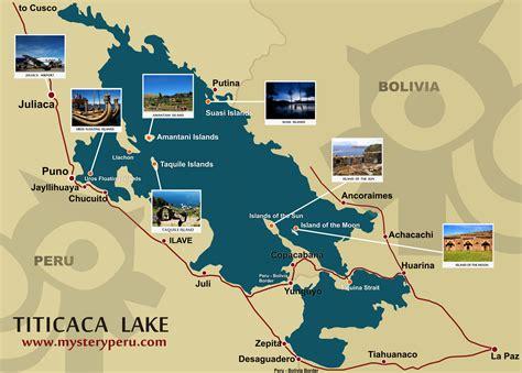 lake titicaca map lake titicaca map mappery