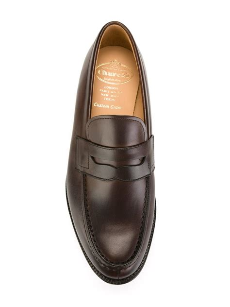 Slip On Els Gucci Hitam lyst church s darwin loafers in brown for