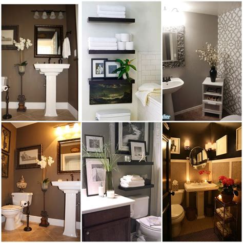 idea for bathroom decor small half bathroom decorating ideas pictures to pin on