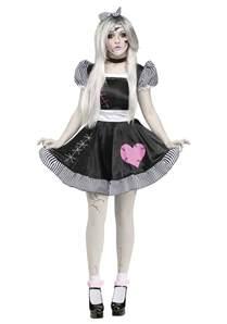 creepy doll halloween costume broken doll costume