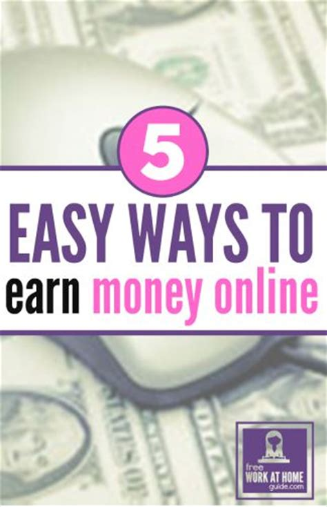 Easy Ways To Make Money Online - make easy money online images usseek com