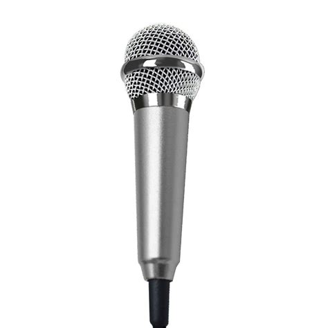 iphone microphone audio condenser microphone sound record karaoke for iphone 6 6s samsung s6 phone