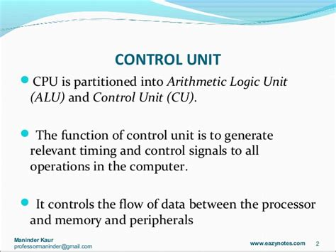 what is in law unit timing and control unit