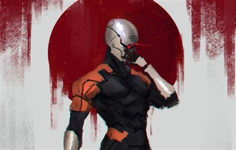 grey ninja wallpaper wallpaper gray fox metal gear solid metal gear cyborg