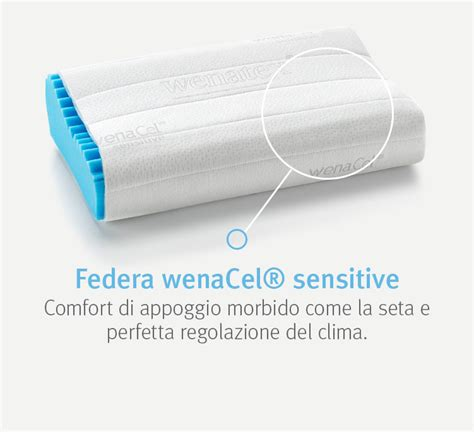 cuscini wenatex cuscino ortopedico wenacel 174 sensitive