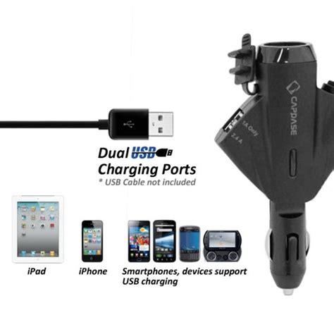 Capdase Posh Adaptor Charger 6 Port Usb Output 6a Adapt Limited capdase t2 car lighter dual usb cradle mount holder