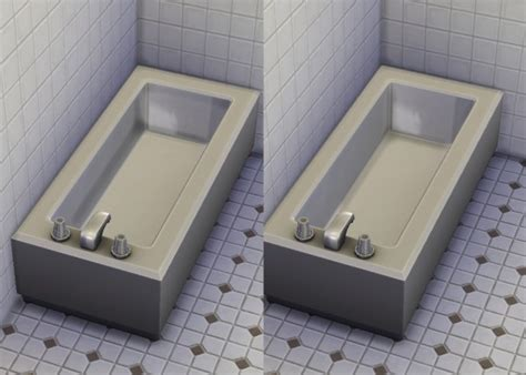 mod the sims bathtub transparency fix by plasticbox